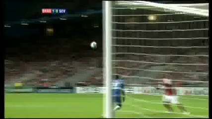 Uefa Champions League Playoffs - Braga 1 - 0 Sevilla