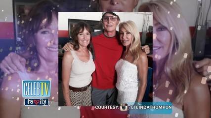 Kris Jenner Missing from Bruce Jenner Ex-Wives Pic
