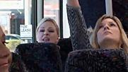 Dance Moms - Аби и Кристи се бият в автобуса за състезанието