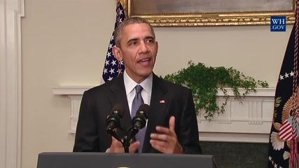 """Барак Обама: Споразумението в Париж е """"повратна точка за света """"!"""