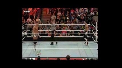 Evan Bourne vs. Dolph Ziggler - Wwe Raw 18.04.11