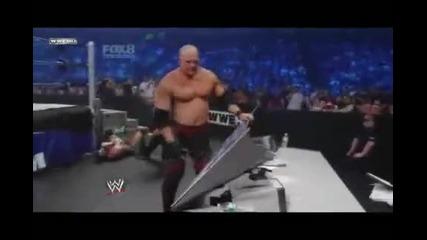 Smackdown / Kane vs Cm Punk No Discualification