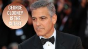 George Clooney talks quitting acting, babies and Trump