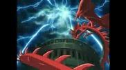 Yugi Vs Kaiba - Egyptian God`s Battle