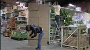Смях! Кутиите падат - скрита камера