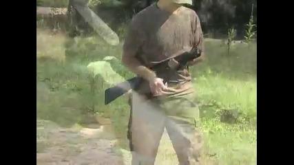 Първата въздушна ловна пушка