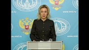 "Russia: Zakharova slams Turkey for downed Su-24 bomber ""tragedy"""