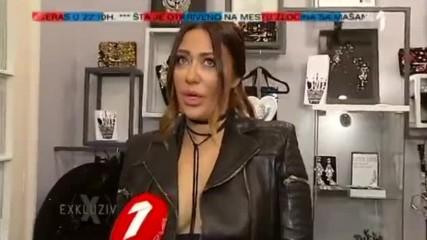 Ana Nikolic - O planovima sa Rastom i medijskim natpisima - Exkluziv - (TV Prva 09.11.2016.)