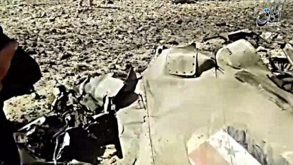 Боен самолет се разби край Дамаск