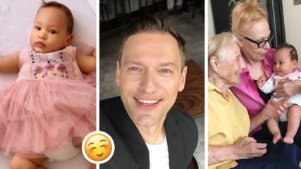 Вижте колко е пораснала Елизабет, малката принцеса на Орлин Павлов!