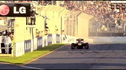 2011 Australian Grand Prix Race - Flashes