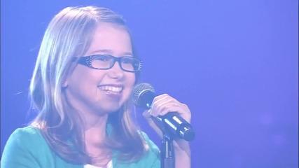 """13-годишна пее """"винаги ще те обичам"""" уникално"""