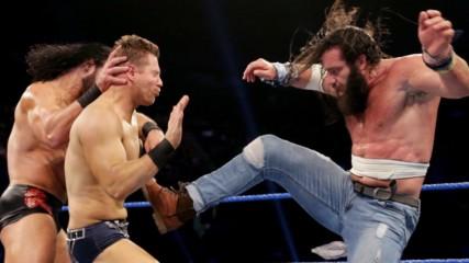 The Miz & R-Truth vs. Drew McIntyre & Elias – Tag Team Elimination Match: SmackDown LIVE, June 18, 2019
