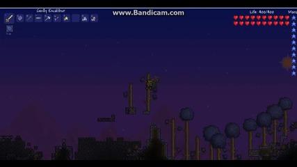 Terraria killing skeleton Boss гаден провал