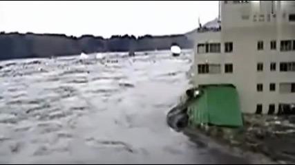 Мегаземетресение моментът, в който Япония се разтресе .