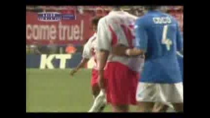 Rogerio Ceni Vs. Gigi Buffon