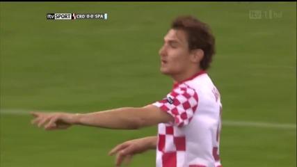 Euro 2012: Хърватия - Испания 0:1