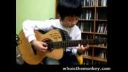 11 годишно момче свири на китара невероятно 2