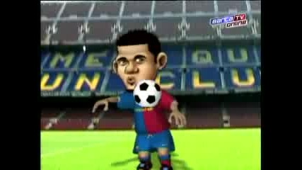 Fc Barcelona - El Nuevo Toon De Alves