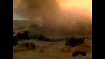 Удивителни Кадри - Падане На Метеорит!