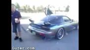 Mazda Rx7 Fire