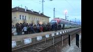 Жителите на Генерал Тодоров блокираха жп линията Петрич-София