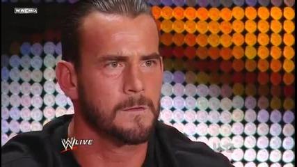 Raw 27/6/11 - Невероятното промо на Cm Punk !