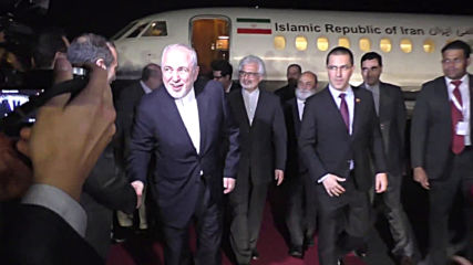 Venezuela: Iranian FM Zarif lands ahead of Non-Aligned Movement meeting