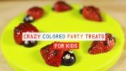 Парти сладки: ягодови калинки