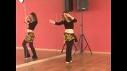 Бейли денс уроци / 2 - Belly-dance- lesson - 2