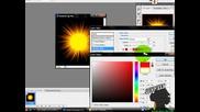 Как Да Си Направим Обикновено Слънце С Photoshop Cs3