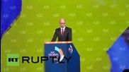 "USA: Ukraine facing ""real war"" with Russia says Yatsenyuk"