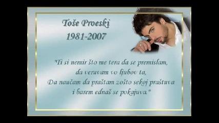 Tose Proeski - Zao Mi Je (booke Club Mix)