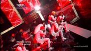 (hd) B.a.p - Power ~ Music Bank (01.06.2012)