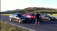 Civic B20 vs. Seat Leon Fr 240k.c. на колелата