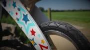 Вижте дървено колело за баланс Kiddimoto Stars
