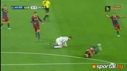 Имаше ли фаул при отменения гол на Реал?