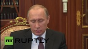 Russia: Gas price for Ukraine should compare with regional prices says Putin