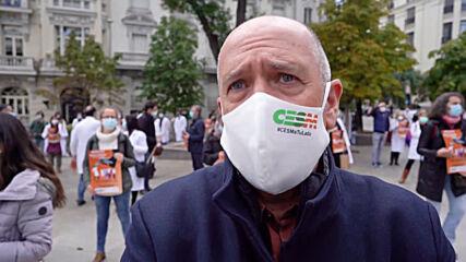Spain: Doctors begin first indefinite strike in 25 years amid coronavirus pandemic