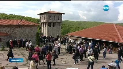 Осветиха ремонтирания Гигински манастир