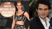John Mayer thinks Jennifer Lawrence doesn't really like him