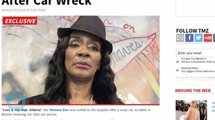 Love & Hip-Hop: Atlanta Star Momma Dee Rushed to Hospital After Car Accident