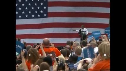 Обама критикува Ромни за липсата на нови идеи за икономиката