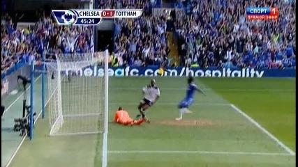 Челси-тотнъм 1:1 гол на Лампард