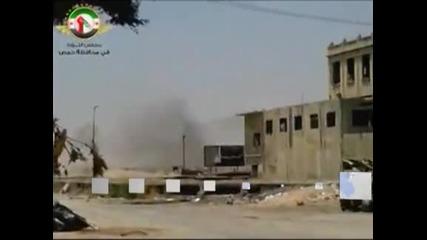 Тежки боеве в близост до Дамаск