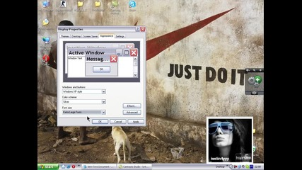 Как да оправиме desktop прозорците ?