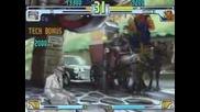 Street Fighter 3 Q (kuroda) Vs Akuma (yuki Otoko)