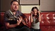 Баща и дъщеря пеят страхотно