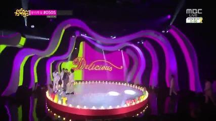 [140315] Toheart - Delicious @ Music Core