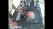 Рисуване На Картина Със Спрей